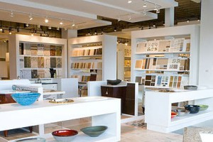 RETAIL SHOWROOM FOR PREMIER INTERIORS FINISHES AND KITCHEN AND BATH SHOWROOM